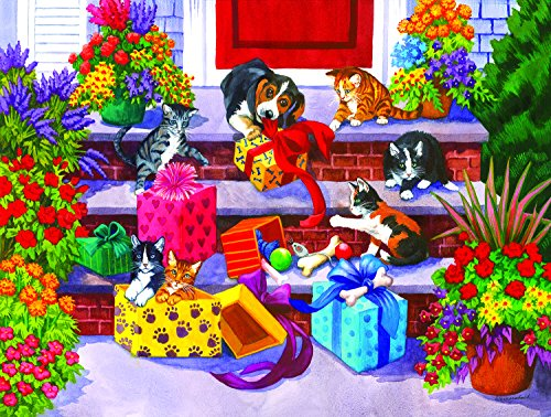 Time for Toys and Treats 1000 Piece Jigsaw Puzzle by SunsOut