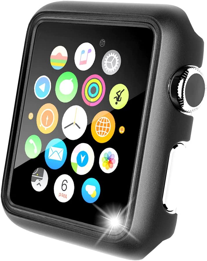 Maxboost Apple Watch 42mm Case [Slim Fit] Premium PC Frame with Anti-Scratch for 42mm Apple Watch Series 3, Series 2, Series 1 / Original 2015, Nike+, Sport, Edition (DO Not Work w/Screen Protector)