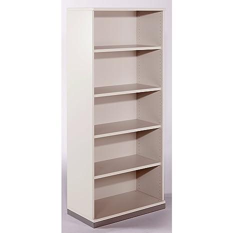 THEA – Estantería 4 estantes, 5 pisos de archivadores – Blanco Antiguo – 540130 Oficina