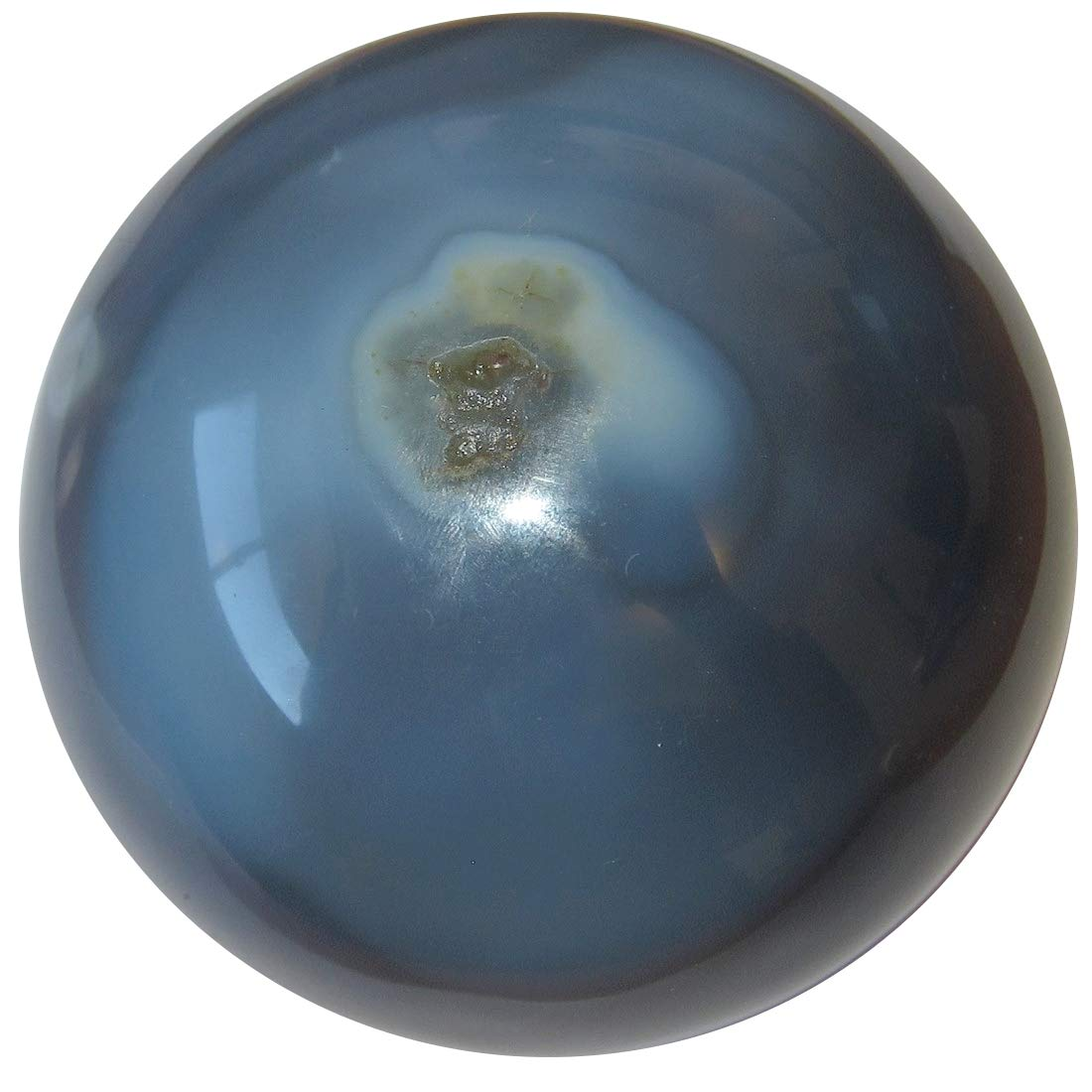 Satin Crystals 3.0 Butterfly Cave SatinCrystals Agate Blue Lace Ball Collectible Rare Find Crystal Sphere Celestial Energy Healing Geode Gem C50