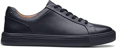 Top Sneakers, Blue Navy Leather