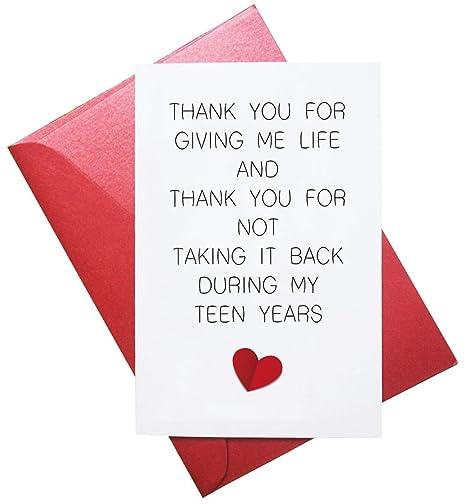 Amazon.com: Tarjeta de felicitación de cumpleaños para mamá ...