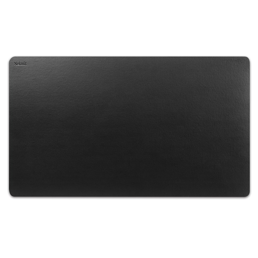 Nekmit Leather Desk Blotter 24x14, Black Nekmit Compact