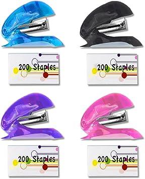PURPLE!!!!!!! School Business Stapler Set 200 staples included Home