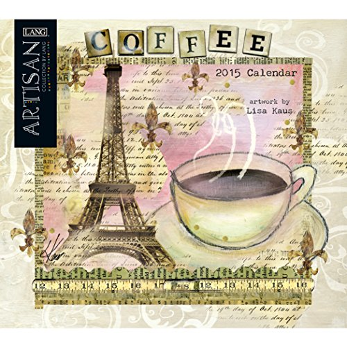 Avalanche January to December, 13.375 x 24 Inches, Perfect Timing Artisan Coffee 2015 Wall Calendar by Lisa Kaus (1001791)