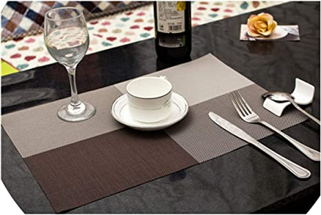 1pc Fashion Place Mat Dining Table Mat Table Placemats For Table Decoration Accessories 45x30 Cm 7 Home Kitchen