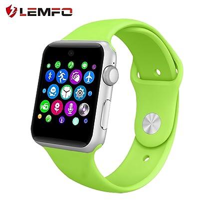 Lemfo LF07 Montre connectéeBluetooth compatible carte SIM, appareil portable, moniteur
