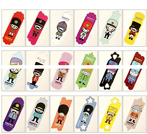 Vintage DIY Multifunction Soldier Cute Paper Bookmark Book Markers /Office of School/ 108sheets /Lot by Office & School Supplies YingYing (Image #1)