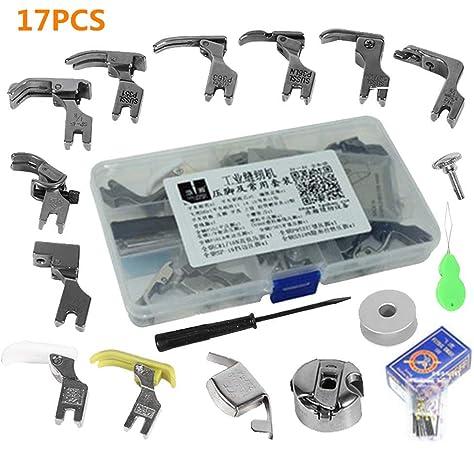 KUNPENG - Set de prensatelas # KP-PF25 PARA JUKI DDL-555 DDL-5550 ...