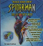 Make Your Own Spiderman 3d Activity Kit by Marvel