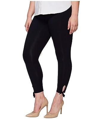 3c07d6f5c Lyssé Women s Tie Cotton Crop Legging at Amazon Women s Clothing store