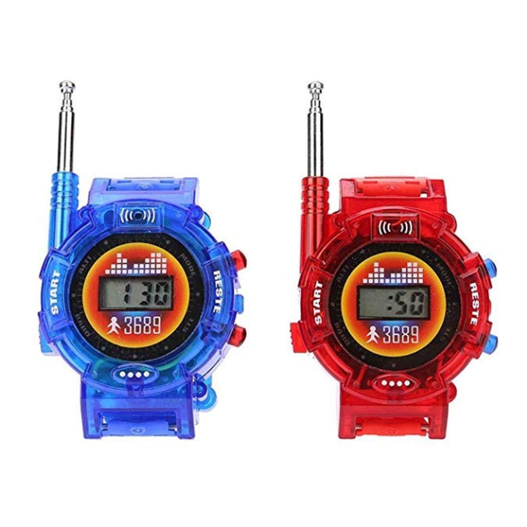 LEANO Kids Portable Mini Watch Two Way Radio Walkie Talkie Toy Walkie Talkies