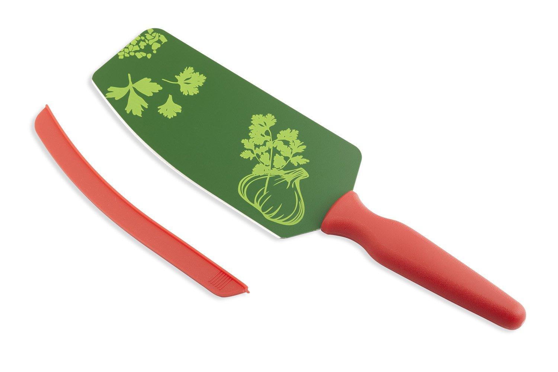 Kuhn Rikon Flexi 6-Inch Knife Spatula, Red/Green
