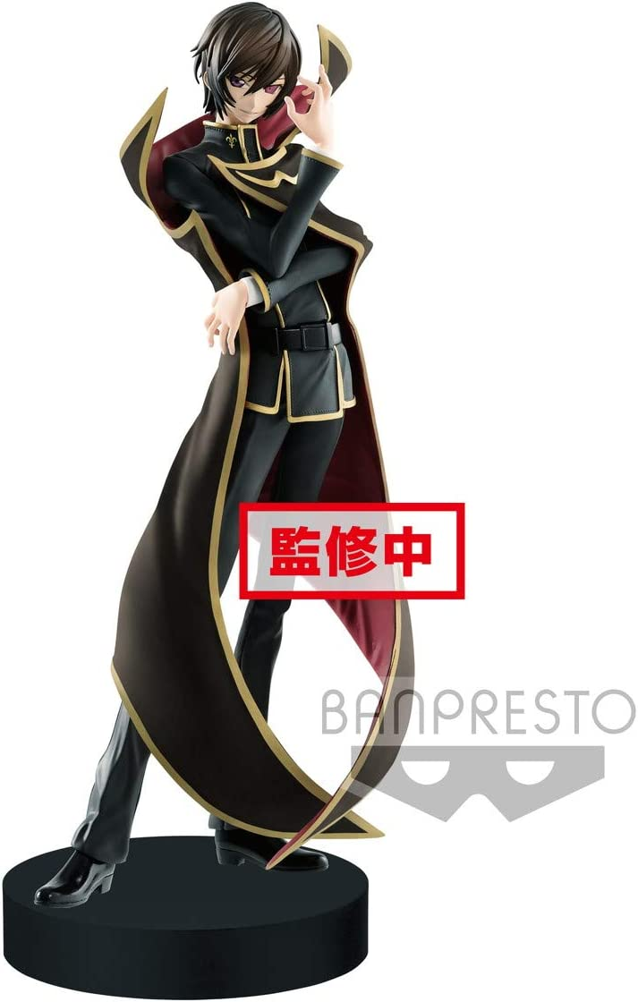 Banpresto BP39147 Code Geass Lelouch of The Rebellion Exq Figure-Lelouch Lamperouge Ver.2-, Multicolor