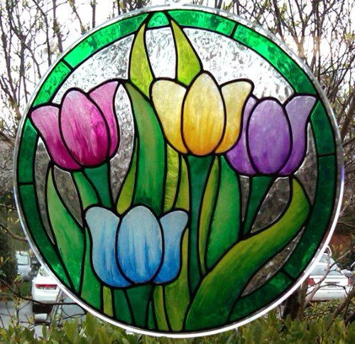 Plaid Gallery Glass Window Color Paint Set (2-Ounce