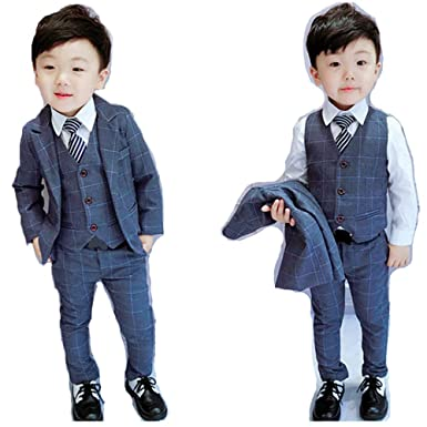 5d3f7a746ccb8 男の子スーツ 子供スーツ 3点セット フォーマル 子供発表会入学式 スーツ 男の子スーツ
