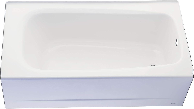 American Standard 2461002.011 Cambridge Apron-Front Americast Soaking Bathtub Right Hand Drain, 5 ft x 32 in, Arctic