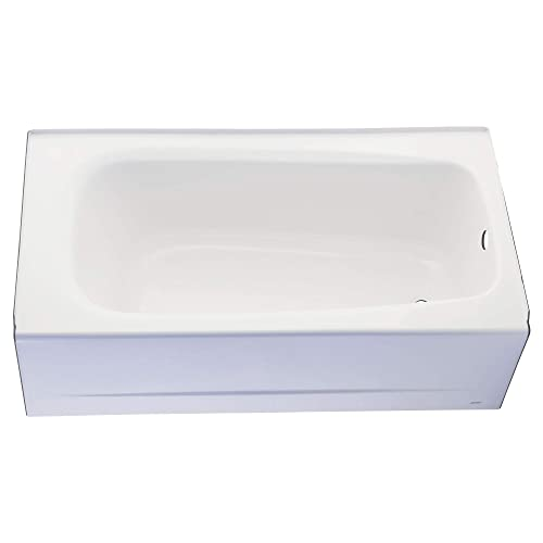 American Standard 2461.002.011 Cambridge Soaking Bathtub Right Hand Outlet, 5-Feet, Arctic
