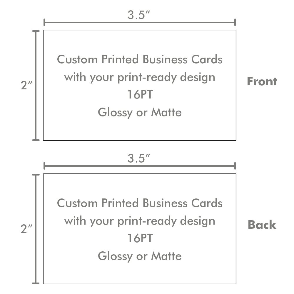 Amazon kachy design custom printed business cards 16pt amazon kachy design custom printed business cards 16pt thick glossy or matte professional 2500 business cards office products reheart Gallery