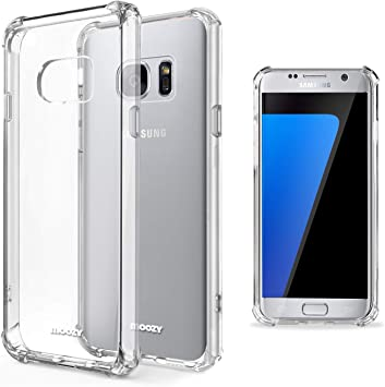 Moozy Funda Silicona Antigolpes para Samsung S7: Amazon.es: Electrónica