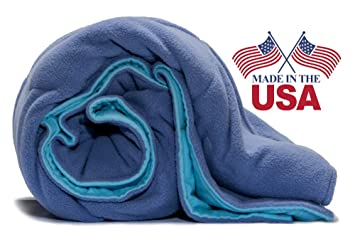 Premium Therapeutic Weighted Blanket Deep Pressure 125lb Calm Soothe Children