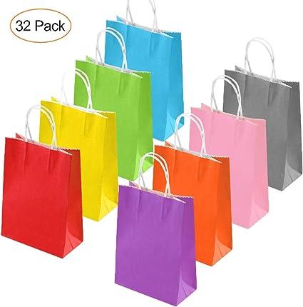 Amazon.com: Bolsas de papel para fiestas de 32 unidades ...