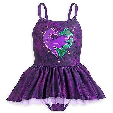 1384fff982 Amazon.com: Disney Descendants Two-Piece Swimsuit For Girls: Clothing
