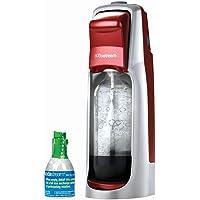 SodaStream Fountain Jet Sparkling Water Maker Starter Kit, Red