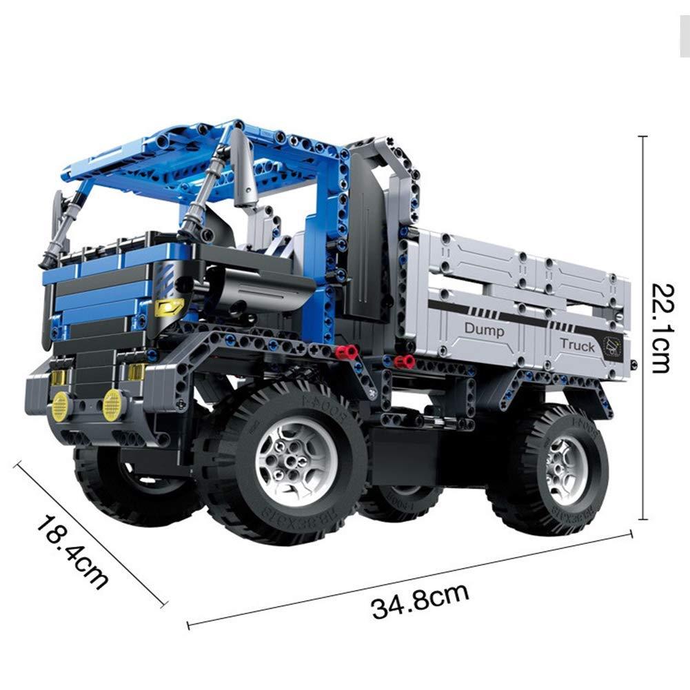 ACHICOO ビルディングブロック パズル リモコン リモコン ダンプ ダンプ トラックのおもちゃ 組み立てます 子供 男の子 男の子 B07QG158SH, 池部楽器トランペットステーション:f1020c56 --- m2cweb.com