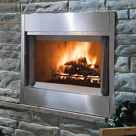 18-Inch by 6-Inch onlyfire 304 Stainless Steel Fireplace and Fire Pit H-Burner