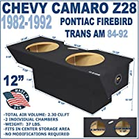 Chevy Camaro Sub Box Z28 12 Pontiac Firebird Trans Am Subwoofer Enclosure