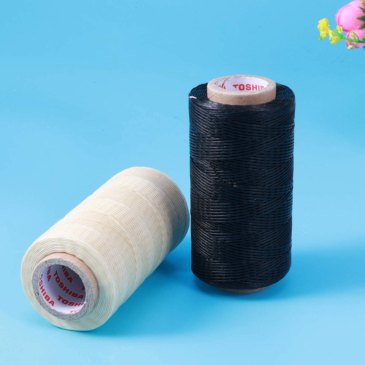 SUPXOV 2XS 150D 1mm Waxed Cord DIY Wax String Accessories Craft Tool Thread Wax Line f/ür Moms Home Use Girls Family