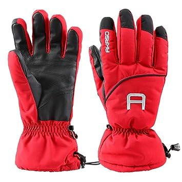 9c11bf7f452278 AKASO 3M Thinsulate Handschuhe Skihandschuhe Winterhandschuhe ...