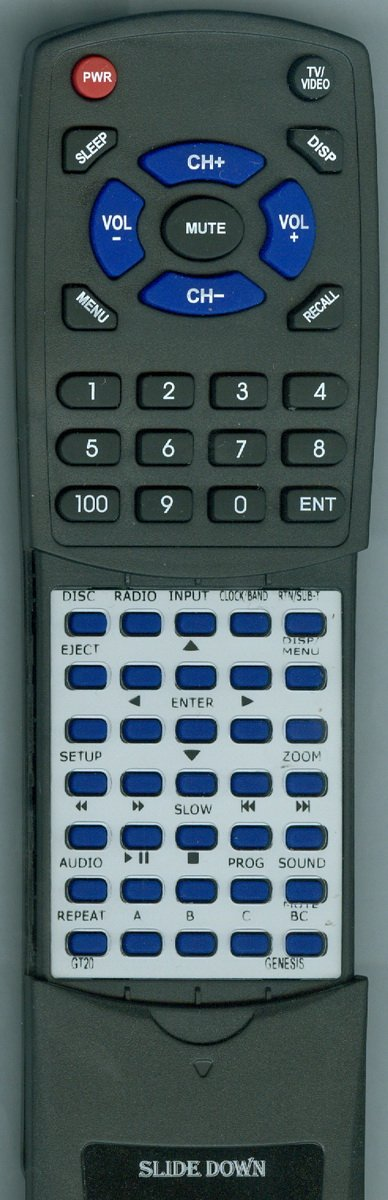 Replacement Remote Control for GENESIS GT2.0