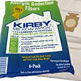 6 Kirby Cloth F Style Vacuum Bags Sentria II Ultimate G Diamond G6 G5 G4 204811