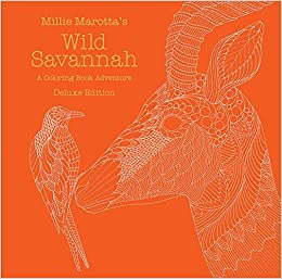 Wild Savannah: A Coloring Book Adventure (A Millie Marotta Adult ... | 257x260