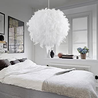 Modern Feder Pendelleuchten Lichter-weiße Dekoration-Hall-Art und ...