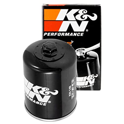 K&N Motorcycle Oil Filter: High Performance, Premium, Designed to be used with Synthetic or Conventional Oils: Fits Select TGB, Yamaha Vehicle Models, KN-148: Automotive