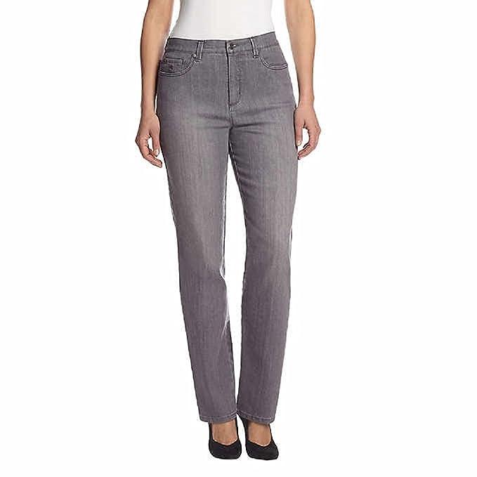 4646be68822 Gloria Vanderbilt Women s Plus-Size Classic Fit Amanda Straight Leg ...