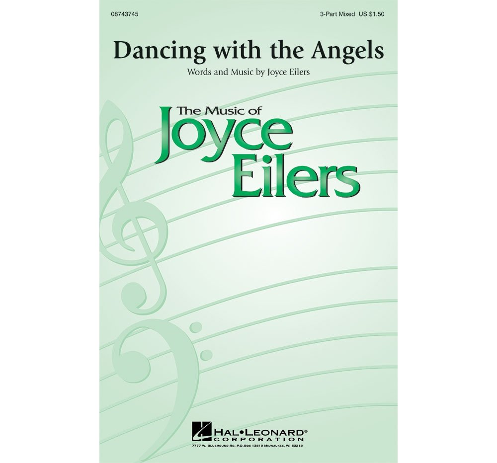 Read Online Hal Leonard Dancing with the Angels 3-Part Mixed composed by Joyce Eilers pdf