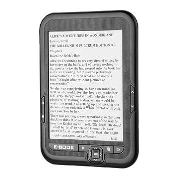 6 Pulgadas Lector de E-Book Portátil de Pantalla Electrónica de ...