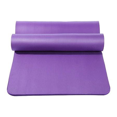 BJYG Alfombrilla de Yoga Antideslizante, a Prueba de Humedad ...