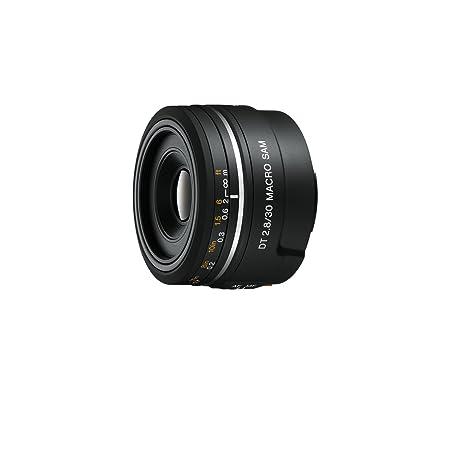 Sony SAL-30M28 Makro Objektiv (30 mm, F2,8 Macro SAM, A-Mount APS-C, geeignet für Alpha 77/68/58 Serien)