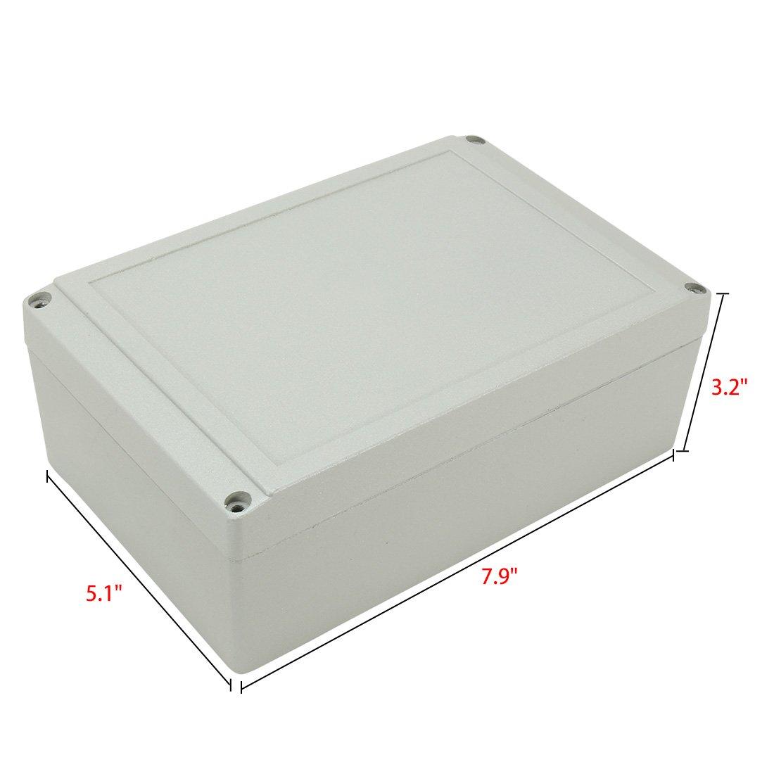 Aexit Caja de conexiones de aluminio de 7.9 x5.1 x3.2 ...