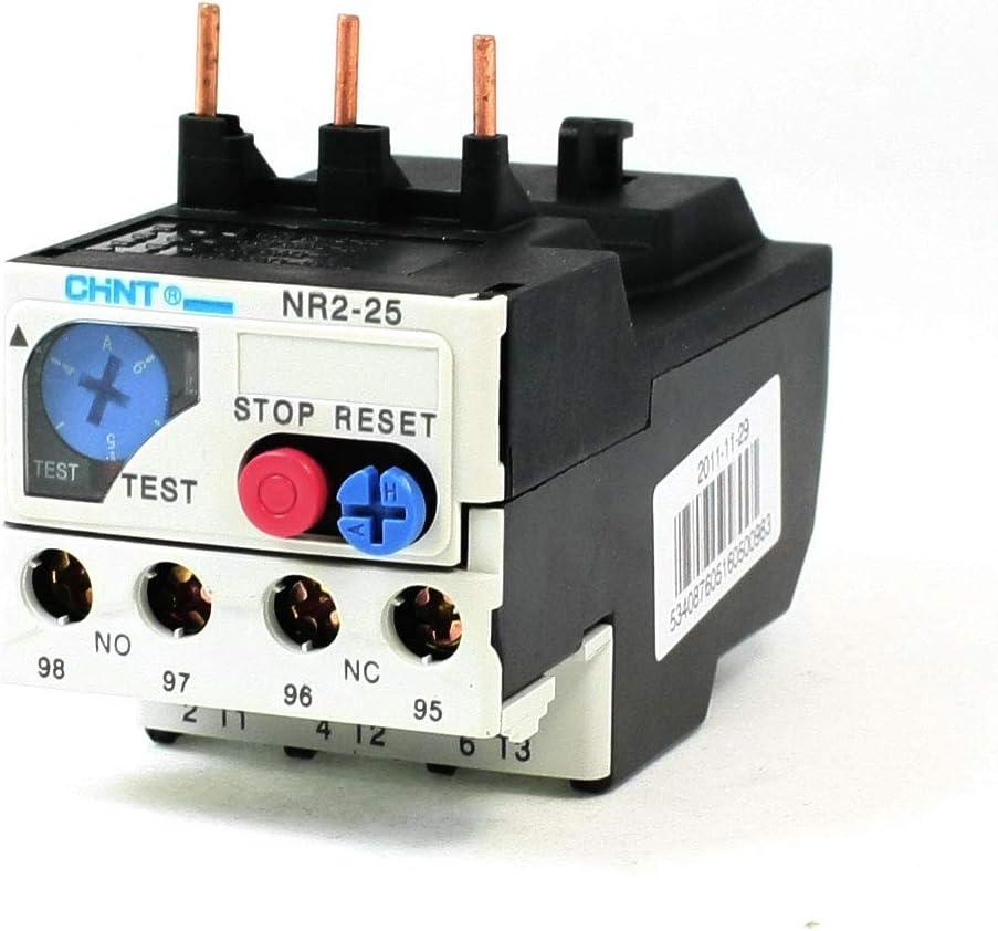 Aexit NR2-25 (التحكم الكهربائي) نطاق 4-6A 3 مراحل 1NO 1NC حراري كهربائي (26ry741qf106) تأخير الحمل الزائد