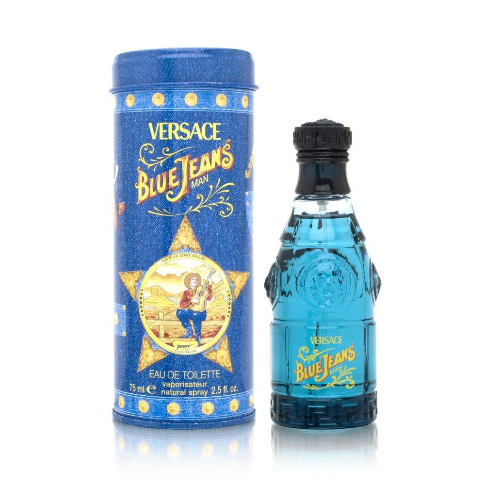 Blue Jeans By Gianni Versace For Men, Eau De Toilette Spray 2.5-Ounces