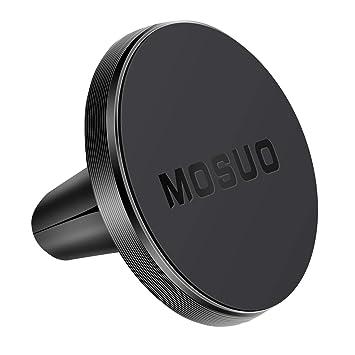 MOSUO Soporte Móvil Coche Magnético Ventilación, Universal iman para movil Coche para Rejillas del Aire