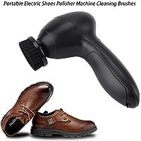 Pulidora de zapatos eléctricos portátiles, kit de cepillo de limpieza de zapatos de cuero recargable portátil de mano Herramienta de cuidado de cuero para bolsos Mantenimiento de asientos de automóvil