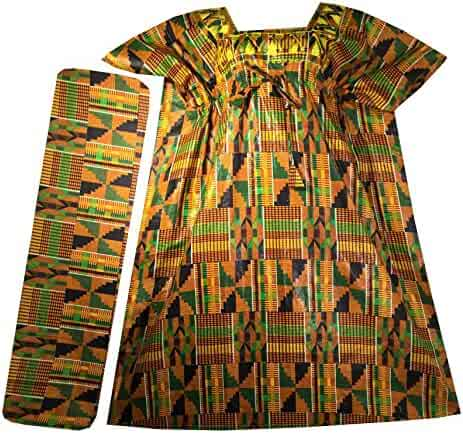 df329f315b07 Decoraapparel Women African Dress S, M, L, XL Traditional Dashiki Maxi  Caftan Cotton