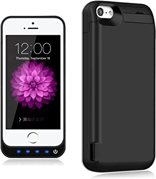 TQTHL 4800mAh External Battery Backup Protective Charger Case